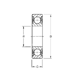 CYSD W6306-ZZ deep groove ball bearings