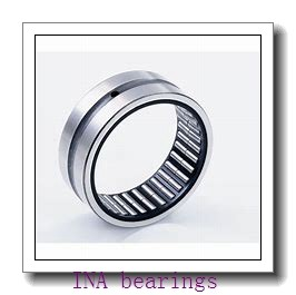 INA SL182920 cylindrical roller bearings