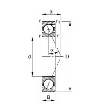 FAG B71904-E-T-P4S angular contact ball bearings