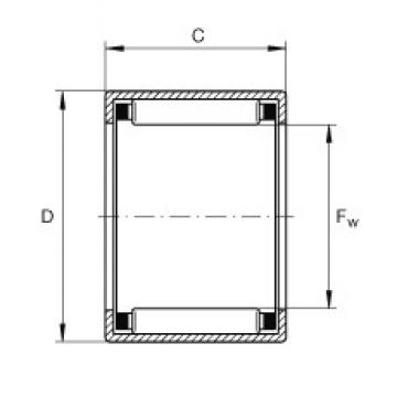 INA SCH88 needle roller bearings