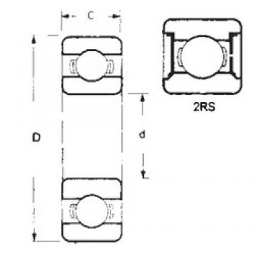 FBJ 6207-2RS deep groove ball bearings