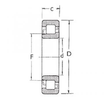 FBJ NJ2318 cylindrical roller bearings
