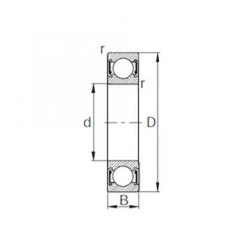 CYSD 6930-2RZ deep groove ball bearings