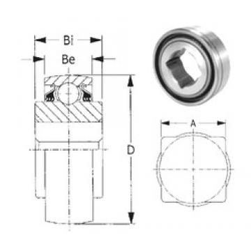 CYSD W208PPB9 deep groove ball bearings