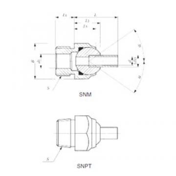 IKO SNM 24-40 plain bearings