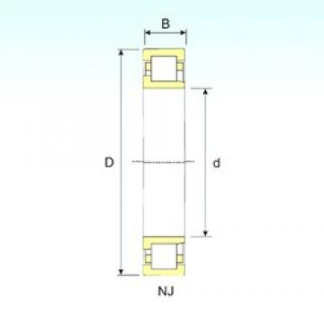 ISB NJ 226 cylindrical roller bearings