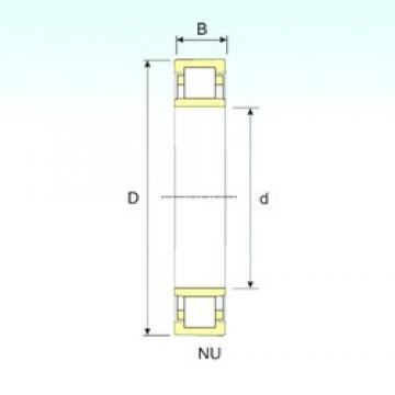 ISB NU 10/670 cylindrical roller bearings