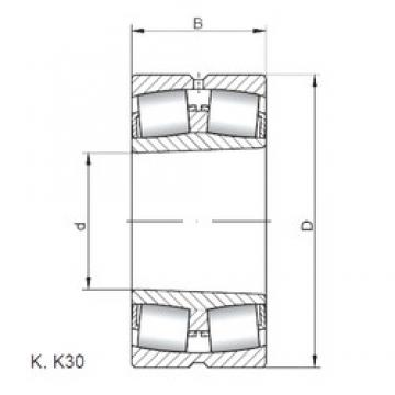 ISO 23988 KW33 spherical roller bearings