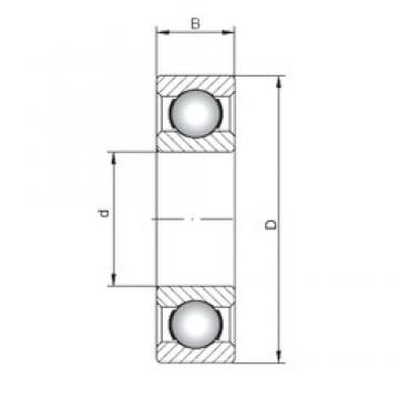 ISO 618/750 deep groove ball bearings