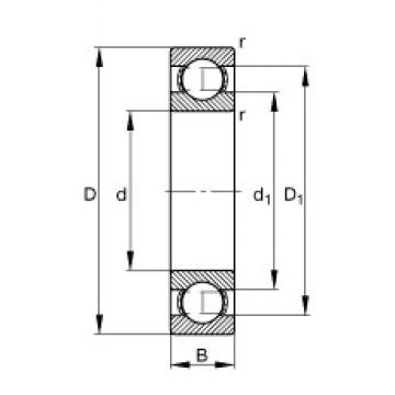 FAG 6202 deep groove ball bearings