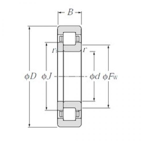 CYSD NUP1028 cylindrical roller bearings #1 image